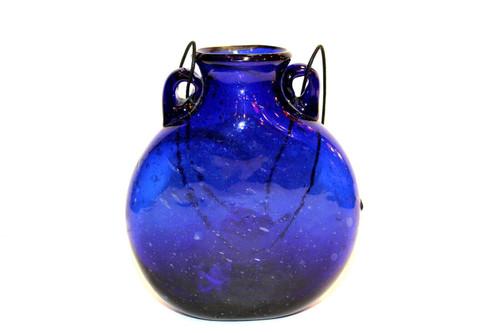 Blue Glass Vase Md