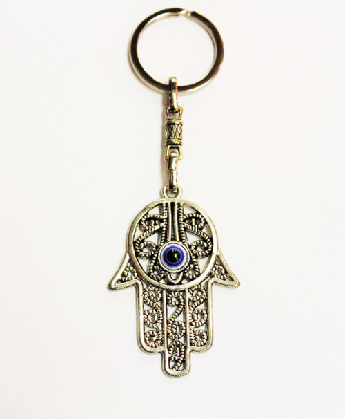 Hamsa Hand with Evil Eye Protection Kaychain