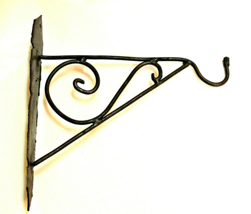 hook, wall hook, wall hook long, lamp hook, wrought iron, moroccan home decor