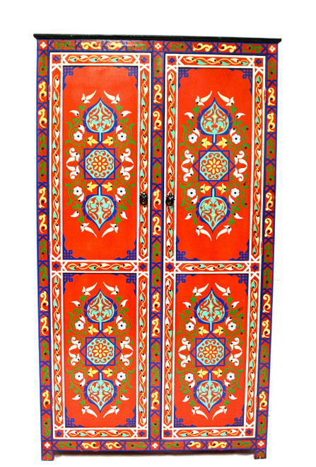 moroccan cabinet, moroccan armoire, moroccan home decor, painted cabinet, large cabinet, cabinet, high-end furniture, luxe furniture, painted furniture, moroccan furniture, moroccan dresser, moroccan wardrobe, painted red armoire, painted wardrobe, large painted cabinet, red cabinet, traditional moroccan furniture, red armoire, red tall cabinet, moroccan red cabinet, painted red cabinet, red painted armoire, moroccan red armoire, painted armoire red, fancy armoire, fancy cabinet, red fancy cabinet