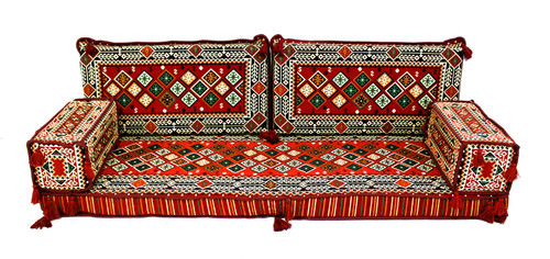 sofa, couch, turkish sofa, floor sofa, floor pillow, meditation cushion, meditation pillow, kilim  rug, red sofa, sofa pillows, sofa cushions, floor set