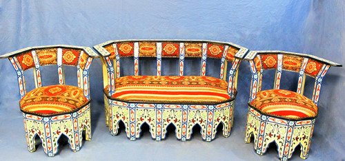 loveseat, moroccan loveseat, moroccan chair, chair, handmade chair, moroccan set, moroccan sofa, moroccan decor, moroccan home decor, moroccan interior , white loveseat, white chairs, white furniture set, furniture set, moroccan furniture set, furniture set, moroccan furniture, high end furniture, luxury furniture, handmade furniture, exclusive furniture, berber rug, bright furniture, painted furniture, painted loveseat, chair painted