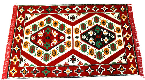 kilim rug red, kilim rug, turkish rug red, turkish rug, turkish carpet, turkish carper red, arabesque design, geometric design, red rug geometric design, red rug, red carpet