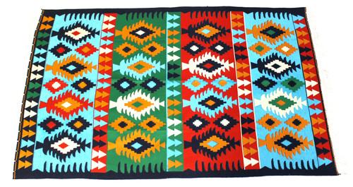 kilim rug blue, kilim rug, turkish rug blue, turkish rug, turkish carpet, turkish carper blue, arabesque design, geometric design, blue rug geometric design, blue rug, blue carpet,