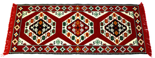 kilim rug red, kilim rug, turkish rug red, turkish rug, turkish carpet, turkish carper red, arabesque design, geometric design, red rug geometric design, red rug, red carpet, red runner, turkish runner, kilim runner