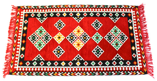 kilim rug red, kilim rug, turkish rug red, turkish rug, turkish carpet, turkish carper red, arabesque design, geometric design, red rug geometric design, red rug, red carpet, small rug, small rug red, small carpet, turkish carpet small, red small carpet, kilim rug small