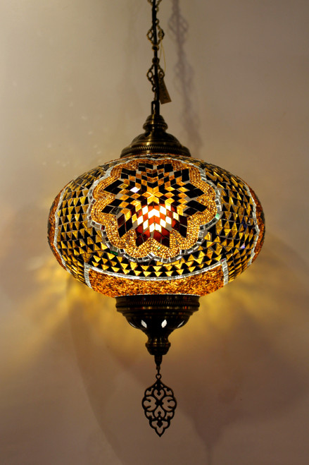 mosaic lamp, Turkish lamp, Tiffany lamp, ceiling lamp, mosaic ceiling lamp, mood light, accent light, brown ceiling  lamp, Tiffany style ceiling lamp, mosaic light fixture, ceiling lamp Tiffany style, mosaic inlay, ceiling lamp mosaic yellow, brown, amber lamp, yellow light fixture, mood light fixture, light fixture Tiffany style, Turkish light fixtures, Turkish lamps, mosaic lamps, light fixture brown, light fixture amber color,