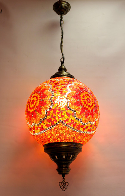 mosaic lamp, Turkish lamp, Tiffany lamp, ceiling lamp, mosaic ceiling lamp, mood light, accent light, red ceiling  lamp, Tiffany style ceiling lamp, mosaic light fixture, ceiling lamp Tiffany style, mosaic inlay, ceiling lamp mosaic red, red, orange lamp, red light fixture, mood light fixture, light fixture Tiffany style, Turkish light fixtures, Turkish lamps, mosaic lamps, orange ceiling lamp, orange light fixture, mosaic orange lamp