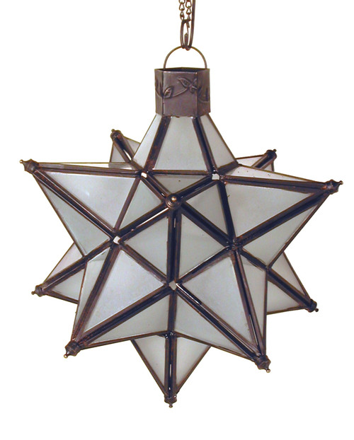star candleholder, candleholder, candle holder, frosted glass, Small Stellated Dodecahedron, Kepler-Poinsot Polyhedron, 12-point star