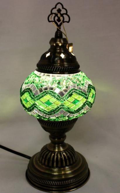 Turkish lamp, table lamp, mosaic lamp, handmade lamps, tiffany lamp, accent light, mood lamp, desk lamp soft light, mosaic table lamp, green lamp