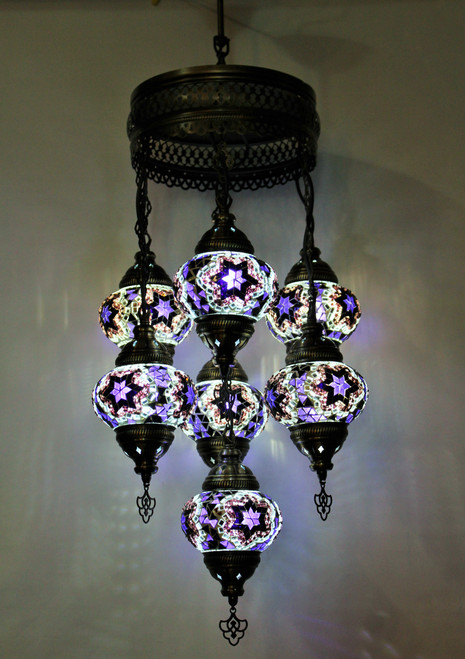 mosaic lamp, Turkish lamp, Tiffany lamp, ceiling lamp, mosaic ceiling lamp, mood light, accent light, purple ceiling  lamp, Tiffany style ceiling lamp, mosaic light fixture, ceiling lamp Tiffany style, mosaic inlay, ceiling lamp mosaic purple, purple, purple lamp, purple light fixture, mood light fixture, light fixture Tiffany style, Turkish light fixtures, Turkish lamps, mosaic lamps