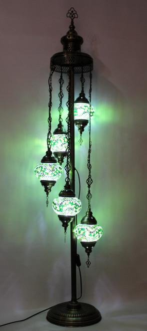 mosaic lamp, Turkish lamp, Tiffany lamp, floor lamp, mosaic floor lamp, mood light, accent light, green floor lamp, Tiffany style floor lamp, mosaic floor lamp, floor lamp Tiffany style, mosaic inlay, floor lamp mosaic green, green, green lamp, green accent light, mood green lamp, floor lamp Tiffany style, Turkish floor lamp, Turkish lamps, mosaic lamps
