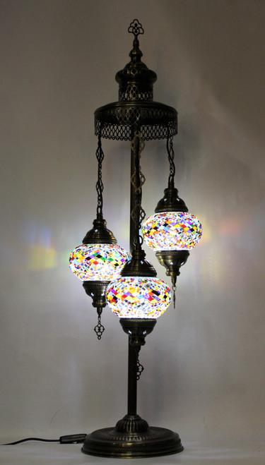 mosaic lamp, Turkish lamp, Tiffany lamp, table lamp, desk lamp, spiral lamp, mood light, accent light, multicolor lamp, colorful table lamp, desk lamp multicolor, desk lamp Tiffany style, colorful light, desk lamp mosaic colorful, spiral lamp multicolor,