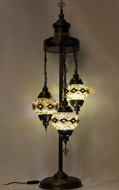 mosaic lamp, Turkish lamp, Tiffany lamp, desk lamp, mosaic desk lamp, mood light, accent light, brown desk lamp, Tiffany style desk lamp, mosaic spiral lamp, desk lamp Tiffany style, mosaic inlay, desk lamp mosaic amber, brown, amber lamp, brown spiral lamp, mood light spiral brown, spiral lamp Tiffany style, Turkish spiral lamp, Turkish lamps, mosaic lamps, amber mosaic desk lamp, brown floor lamp