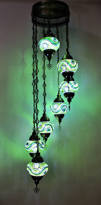 mosaic lamp, Turkish lamp, Tiffany lamp, ceiling lamp, mosaic ceiling lamp, mood light, accent light, green ceiling  lamp, Tiffany style ceiling lamp, mosaic light fixture, ceiling lamp Tiffany style, mosaic inlay, ceiling lamp mosaic green, green, green lamp, green light fixture, mood light fixture, light fixture Tiffany style, Turkish light fixtures, Turkish lamps, mosaic lamps
