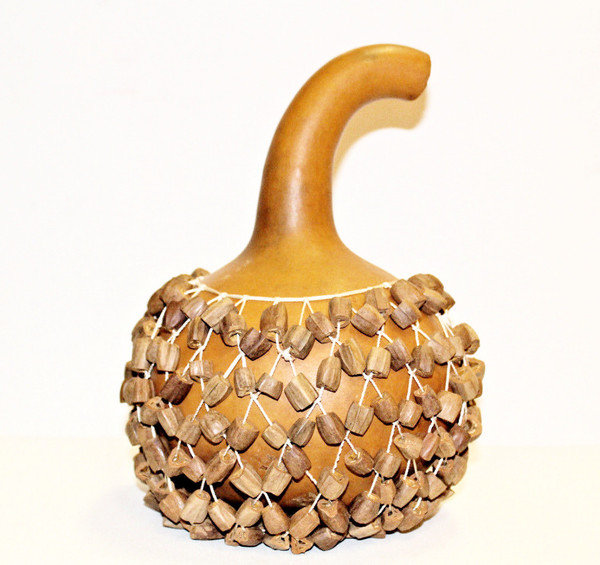 Authentic African Gourd Shaker