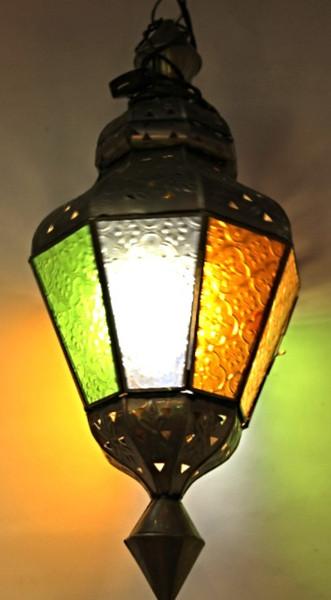 Colorful Lamp Drop Shape