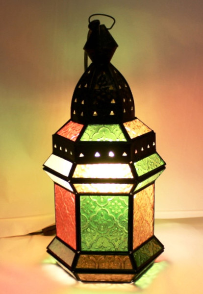 Hexagonal Colorful Lamp