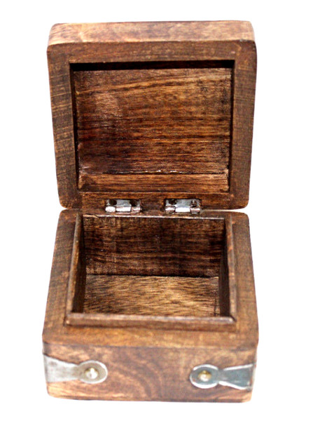 Carved Rosewood Box