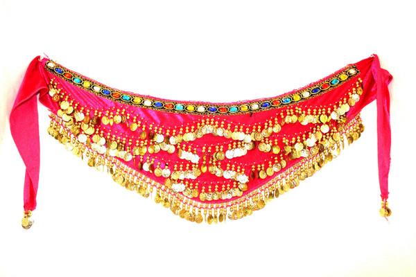 belly dancing, belly dancing hip scarf, hip scarf, coin belt, belly dancing clothes, belly dancing belt, hip wrap, belly dancing hip wrap, coin wrap, coin wrap for belly dancing, pink,