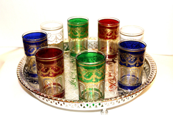 tea glass, tea glasses, tea glasses set, moroccan tea glasses, colorful tea glasses, drinking glass, drinking glasses, colorful juice glasses, colorful glasses, colorful serving glasses, colorful drinking glasses,