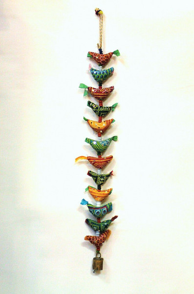 birds, ornament, hanging, kindness, housewarming gift, india, hanging birds, hanging ornament, window decor, porch decor,