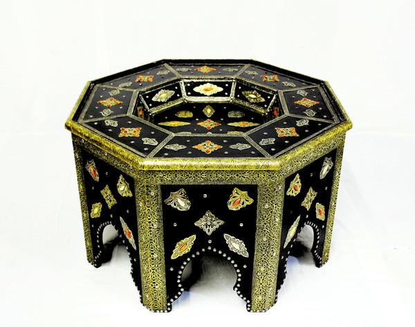 moroccan coffee table, moroccan center piece, center piece, moroccan furniture, moroccan table, high-end furniture, moroccan home decor, centerpiece, moroccan centerpiece, octagon table