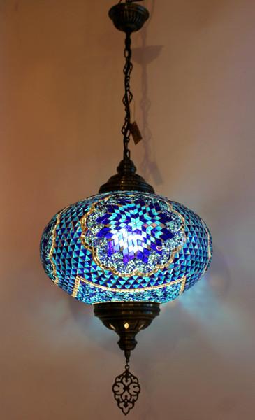 mosaic lamp, Turkish lamp, Tiffany lamp, ceiling lamp, mosaic ceiling lamp, mood light, accent light, blue ceiling  lamp, Tiffany style ceiling lamp, mosaic light fixture, ceiling lamp Tiffany style, mosaic inlay, ceiling lamp mosaic blue, blue, blue lamp, blue light fixture, mood light fixture, light fixture Tiffany style, Turkish light fixtures, Turkish lamps, mosaic lamps
