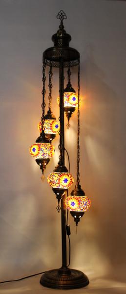 mosaic lamp, Turkish lamp, Tiffany lamp, floor lamp, mosaic floor lamp, mood light, accent light, colorful floor lamp, Tiffany style floor lamp, mosaic floor lamp, floor lamp Tiffany style, mosaic inlay, floor lamp mosaic multicolor, colorful, colorful lamp, orange floor lamp, mood light fixture, spiral lamp, spiral lamp Tiffany style, Turkish floor lamp, Turkish lamps, mosaic lamps, colorful floor lamp, orange floor lamp,