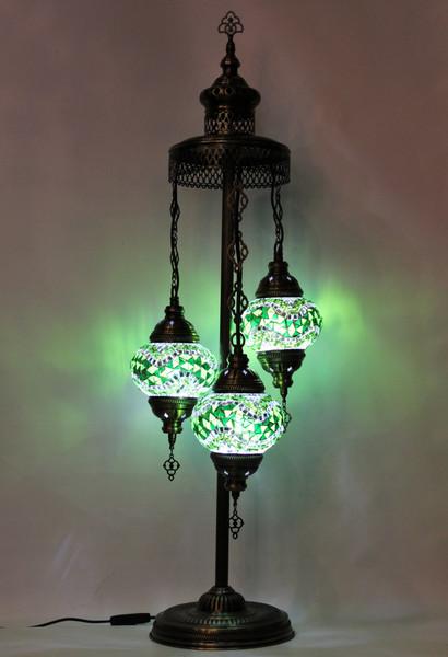 mosaic lamp, Turkish lamp, Tiffany lamp, desk lamp, mosaic desk lamp, mood light, accent light, green desk lamp, Tiffany style desk lamp, mosaic spiral lamp, desk lamp Tiffany style, mosaic inlay, desk lamp mosaic green, green, green lamp, green spiral lamp, mood light spiral green, spiral lamp Tiffany style, Turkish spiral lamp, Turkish lamps, mosaic lamps, green mosaic desk lamp, green floor lamp