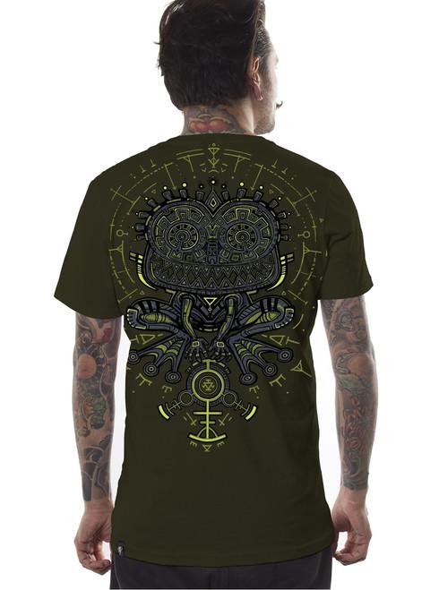 Psychotoad T-Shirt - Dark Olive