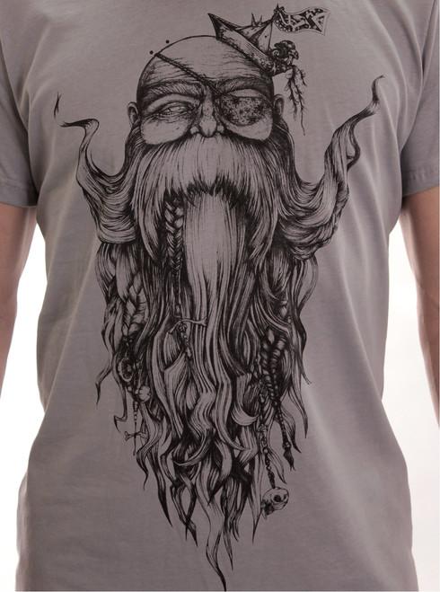 Beardo T-Shirt - Grey