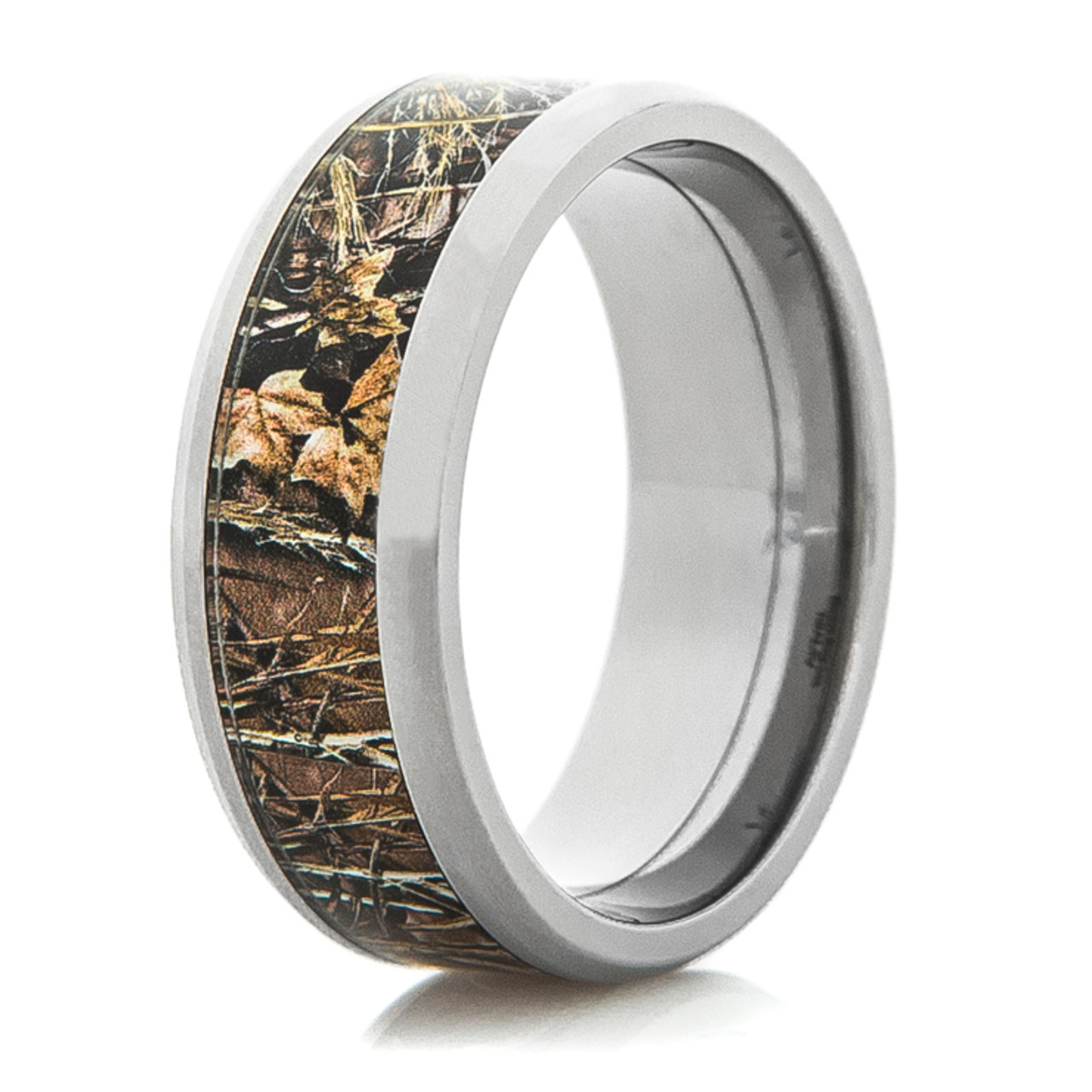 Realtree Titanium Max 4 Wedding Band Titanium Buzz