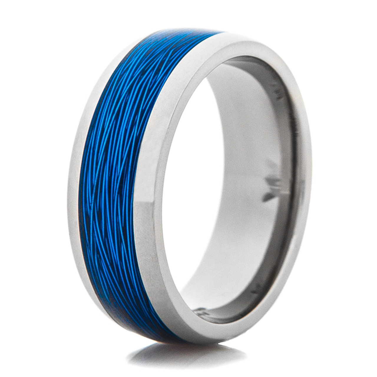 The Angler Products t Rings Tungsten wedding bands