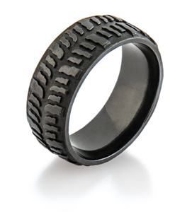 Men's Dark Mud Bogger Ring