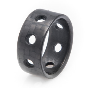 Carbon Fiber Ring -The Bullet Ring