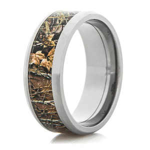 Men's Realtree® Titanium Max-4 Wedding Band with Options