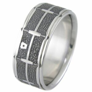 Laser Engraved Titanium Snare Drum Ring