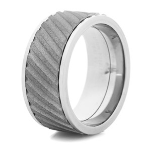 Men's Titanium Spinner Ring