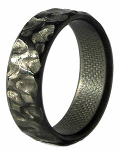 Rock Fiber Narrow Carbon Ring