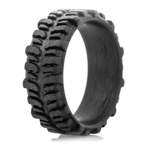 Men's Carbon Fiber Mud Bogger Ring