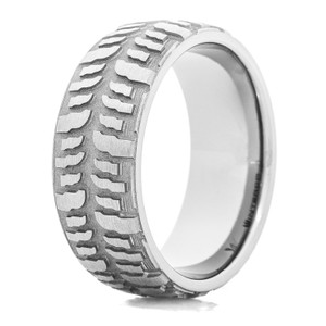 Men's Titanium Interco® Mud Bogger Tire Tread Ring