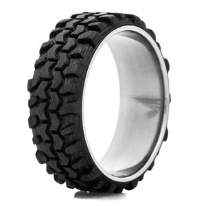 Men's Carbon Fiber Interco® TSL Swamper® Tread Ring w/ Titanium Sleeve