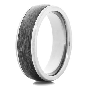 Forged Carbon Fiber Titanium Ring