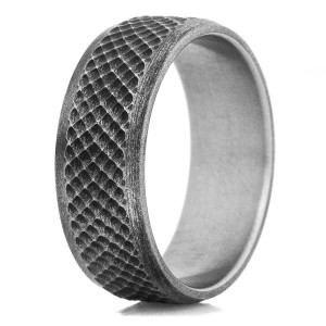 Men's Ground Zero Titanium Ring