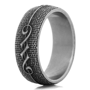 The Titanium Rebel Ring