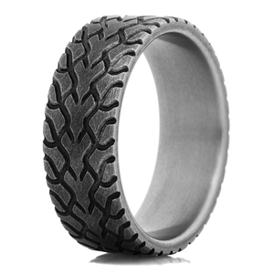 Men's Titanium Drag Radial Tire Tread