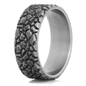 The Mission Titanium Ring