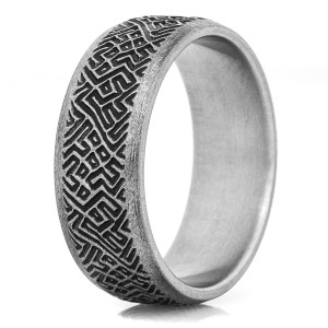 The Rebellion Titanium Ring