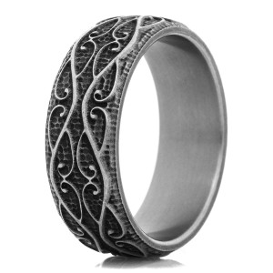 The Revolution Titanium Ring